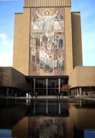 Touchdown Jesus - A Notre Dame Icon