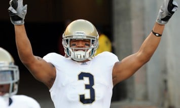 Michael Floyd and the Irish hope to rebound in week against Michigan in the Big House.