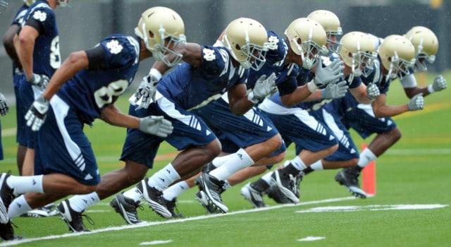 Notre Dame Spring Practice 2012