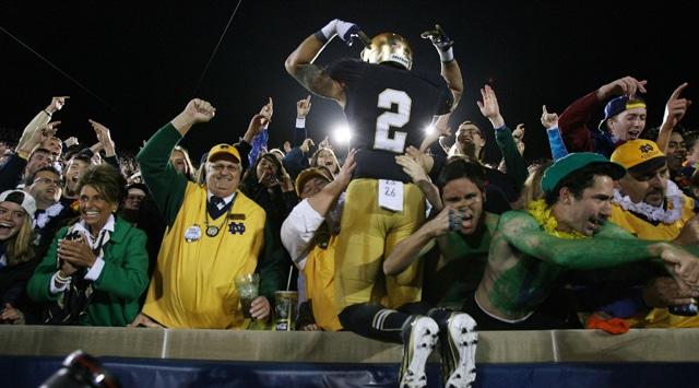 brand new ab887 d2a22 Notre Dame Football - Michigan 2012 Video Highlights | UHND.com