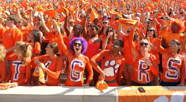 A trip to Death Valley to see the Irish take on Clemson is a new opportunity Notre Dame will be able to take advantage of in the near future.  (Photo - Joshua S. Kelly / US PRESSWIRE)
