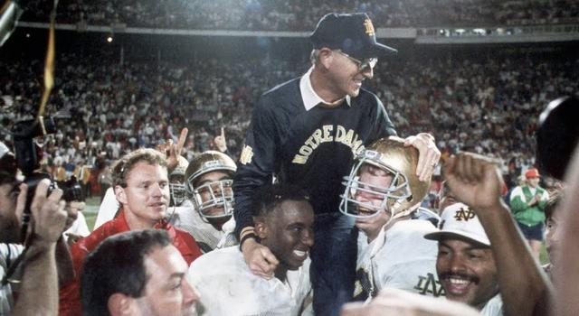 Irish fans under the age of 30 may be too young to remember the success of the Holtz years.