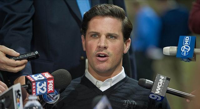 Dec 17, 2012; South Bend, IN, USA; Notre Dame Fighting Irish defensive coordinator Bob Diaco answers questions at the Notre Dame BCS national championship media day at the Loftus Sports Center. Mandatory Credit: Matt Cashore-USA TODAY Sports