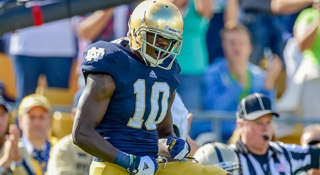 Davaris Daniels - Notre Dame Wide Receiver
