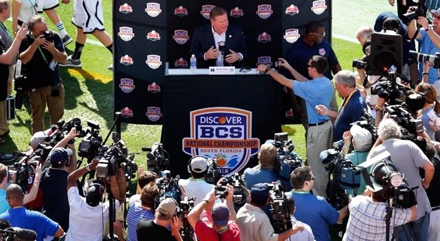 Brian Kelly - BCS Championship Media Day