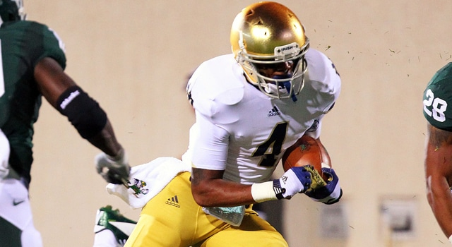 George Atkinson - 2013 Notre Dame Running Back