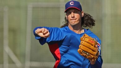 Jeff Samardzija - Chicago Cubs Opening Day Starter