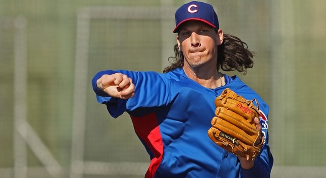 Jeff Samardzija - Chicago Cubs Opening Day Starter