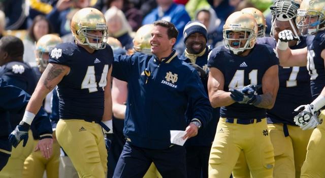 Bob Diaco - 2013 Notre Dame Blue-Gold Game