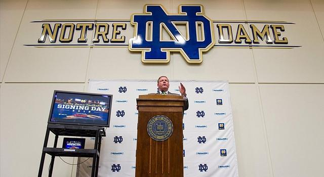 Notre Dame Recruiting Signing Day 2013