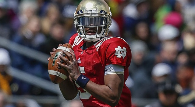 Everett Golson - 2013 Blue-Gold Game