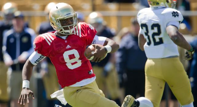 Malik Zaire 2013 ND Spring Game