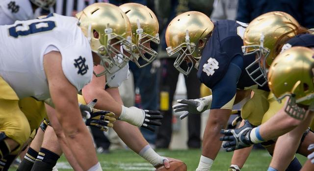 Notre Dame Spring Game 2013