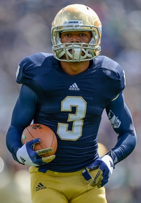 Amir Carlisle - Notre Dame WR/RB