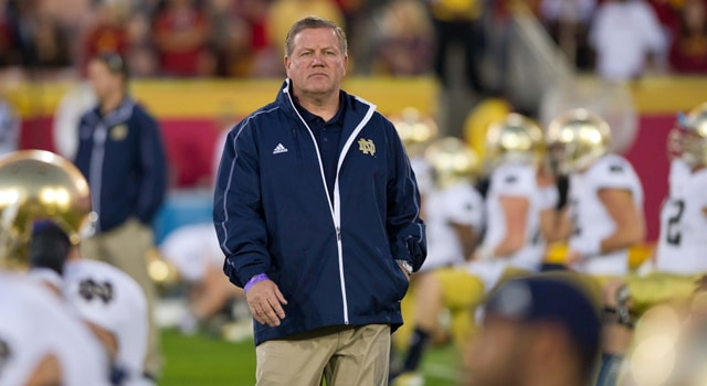 Brian Kelly - Restoring Confidence at Notre Dame