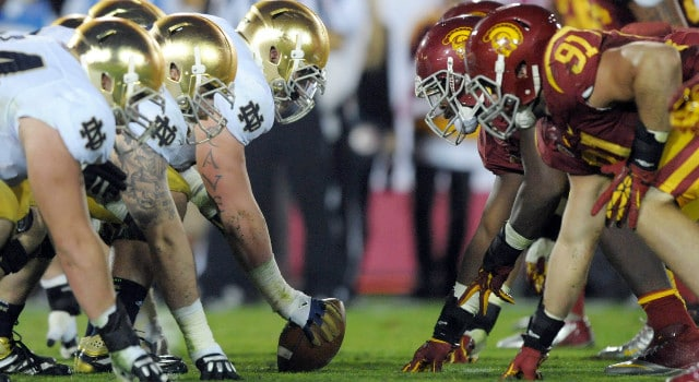 Notre Dame - USC Rivalry