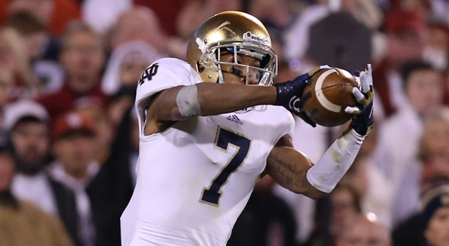 TJ Jones - Possible 2013 Notre Dame Captain