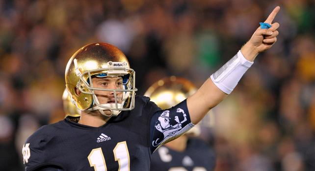 Notre Dame 2013 Quarterback - Tommy Rees