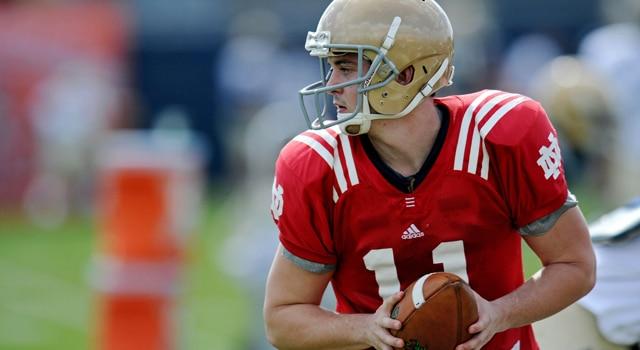 Tommy Rees - 2013 Notre Dame Quarterback
