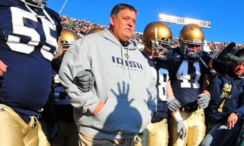 Charlie Weis - Notre Dame