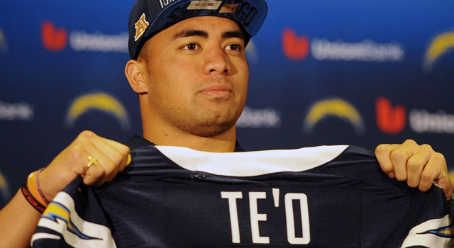 Manti Te'o - Top Selling Rookie Jersey