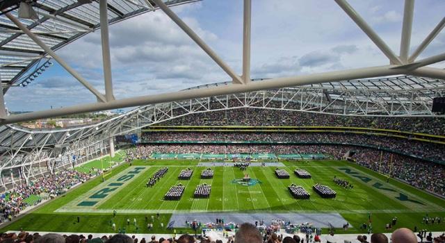 Notre Dame Football - Ireland