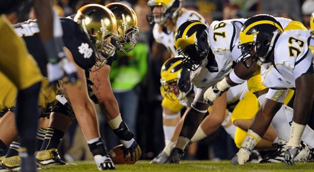 Notre Dame - Michigan Rivalry