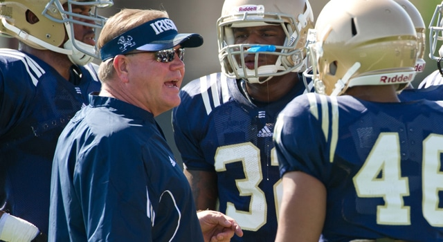 Brian Kelly - Notre Dame Football Fall Camp 2013