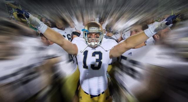 Danny Spond - Notre Dame OLB