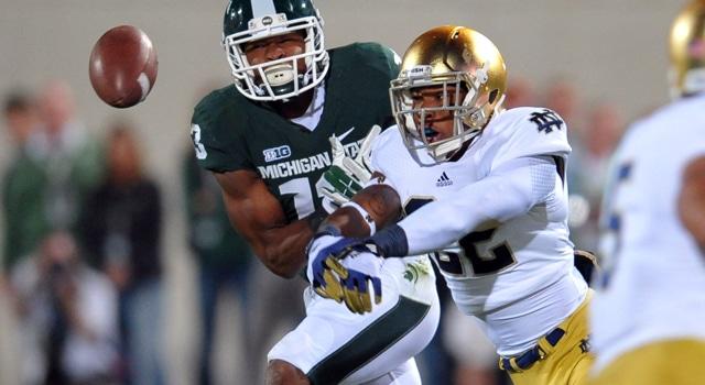 Elijah Shumate - #21 Notre Dame Player for 2013