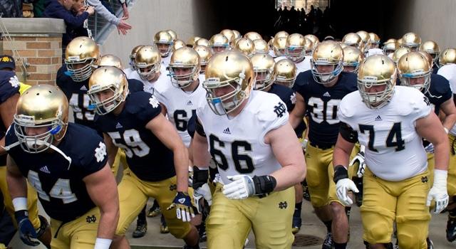 Notre Dame - #11 in Pre-Season Poll