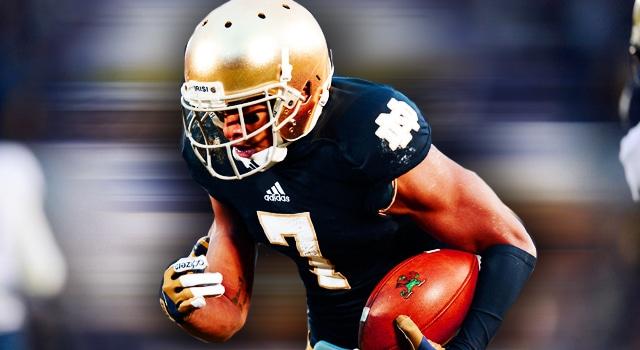 TJ Jones - Notre Dame WR