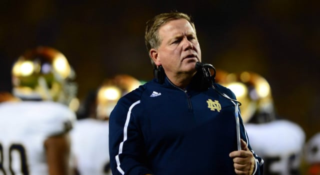 Brian Kelly - Notre Dame HC