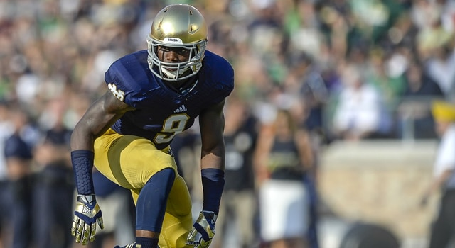 Jaylon Smith - Notre Dame v. Temple