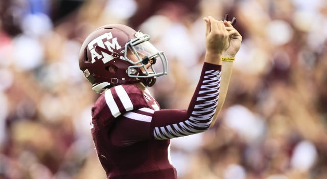 Johnny Manziel - Texas A&M QB