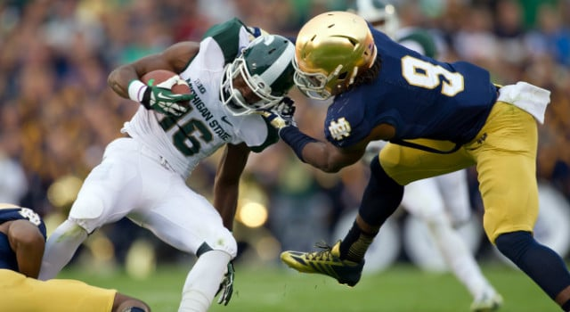 Jaylon Smith - Notre Dame vs. Michigan State