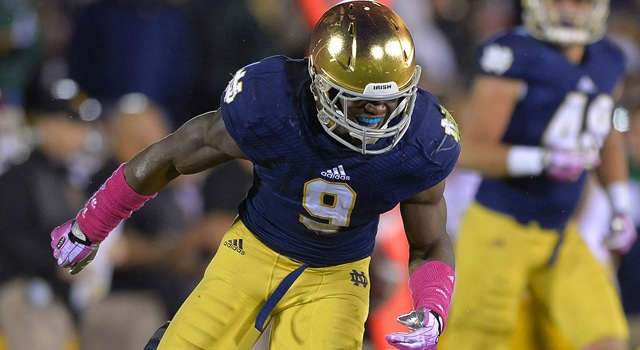 Jaylon Smith - Notre Dame vs. USC