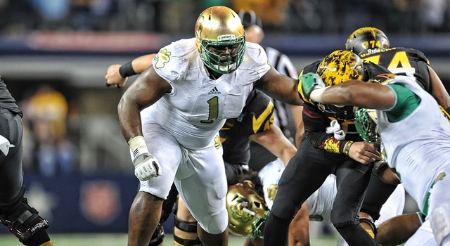 Louis Nix - Notre Dame vs. Arizona State