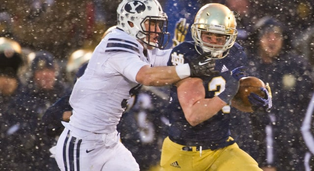 Cam McDaniel - Notre Dame vs. BYU