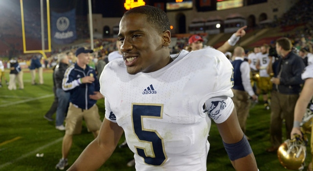 Everett Golson Reapplies to Notre Dame