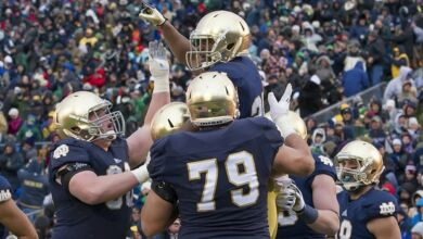 Notre Dame Offensive Line