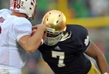 Stephon Tuitt - Sack vs. Stanford