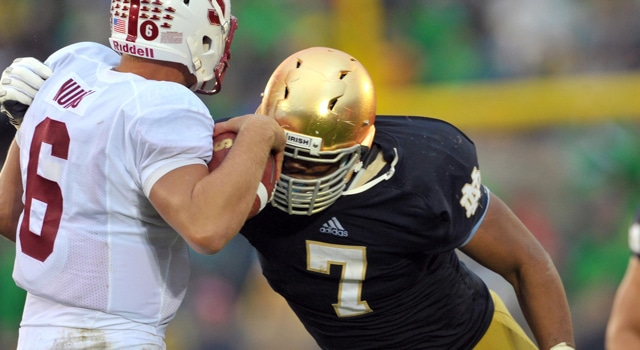 Stephon Tuitt - Sack vs. Stanford