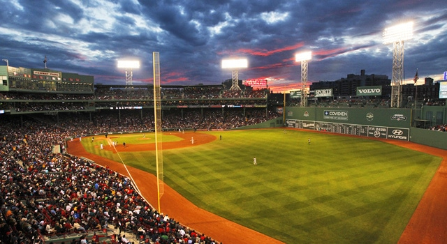 Notre Dame vs. Boston College at Fenway Park