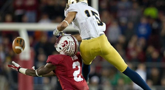 Wayne Lyons - INT vs. Notre Dame