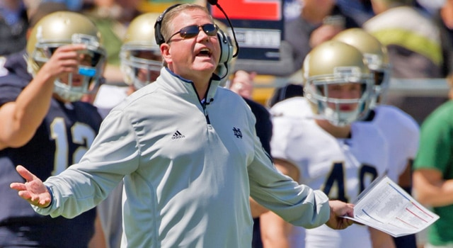 Brian Kelly - Calling Notre Dame's Plays