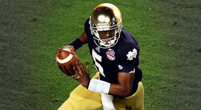 Everett Golson - 2014 Notre Dame Quarterback
