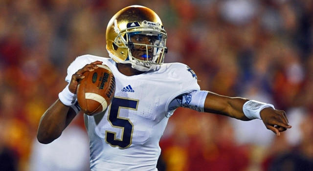 Everett Golson Returns to Notre Dame