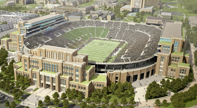 Notre Dame Stadium Renovations