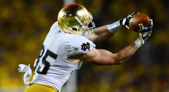 Troy Niklas - Leaving Notre Dame for NFL